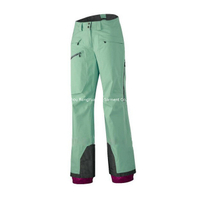 BF-P-001T waterproof ski pant in polyester taslon fabric