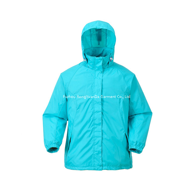 190T Nylon With PU Coating Windbreaker Jacket