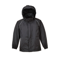 190T Nylon with PU Clear Coating Waterproof Windbreaker Set