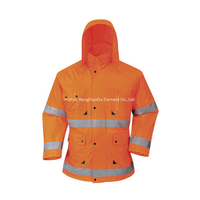 BF-C-009P 170T Polyester/PVC Padded Safety Jacket