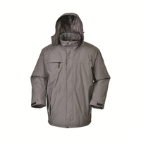 BF-JK-017PP Mens polyester pongee Ripstop parka