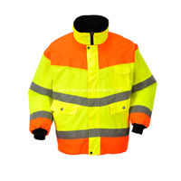 BF-JK-026O 300D Polyester Oxford Safety Jacket