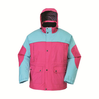 BF-JK-007PP womens polyester pongee waterproof jacket