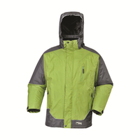 BF-JK-021PP Mens waterproof jacket in polyester pongee fabric