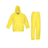 Polyester With PVC Coating Waterproof Rain Suit